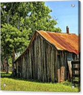 Hill Country Barn Acrylic Print