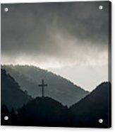 Hill Cross Acrylic Print