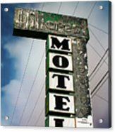 Hillcrest Motel Acrylic Print