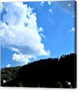 Hills And Sky Acrylic Print