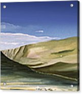 Hills Acrylic Print