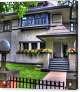 Hills-decaro House Acrylic Print