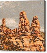 Hills In Sedona Acrylic Print