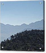 Hills Near Almora, Uttarakhand 2010 Acrylic Print
