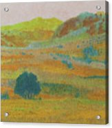 Hills Of Dakota Dream Acrylic Print
