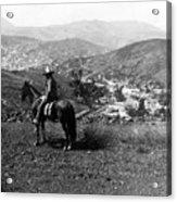 Hills Of Guanajuato - Mexico - C 1911 Acrylic Print