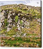 Hills Of Hadrians Wall England Acrylic Print