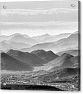 Hills Of The Tonto Acrylic Print