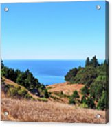 Hills To The Sea Acrylic Print