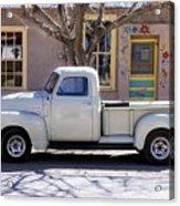 Hillsboro New Mexico 1949 Gmc 100 Acrylic Print