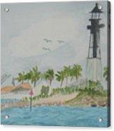 Hillsborough Lighthouse Acrylic Print
