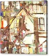 Hillside House Acrylic Print