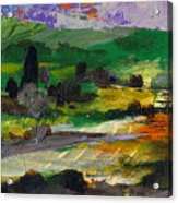 Hillside Pastures Acrylic Print
