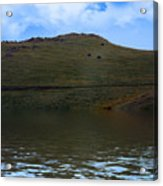 Hillside Reflection Acrylic Print