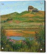 Hilltop Houses Cape Cod Acrylic Print