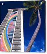 Hilton Hawaiian Village Acrylic Print