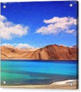 Himalayan Lake Acrylic Print