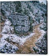 Himalayan Path Acrylic Print