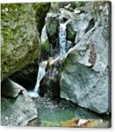 Himalayan Waterfalls Acrylic Print