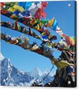 Himalayas In Nepal Acrylic Print