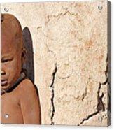 Himba Boy Acrylic Print