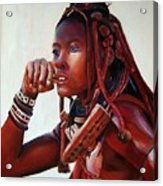 Himba Acrylic Print