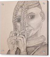 Himba Girl In Nambia Acrylic Print