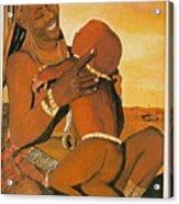 Himba Mom Acrylic Print