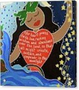 Hina Acrylic Print