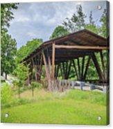 Hindman Memorial Covered Bridge Acrylic Print