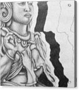 Hindu Goddess Acrylic Print
