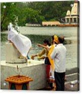 Hindu Offering Acrylic Print