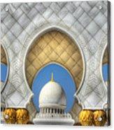 Hindu Temple Acrylic Print