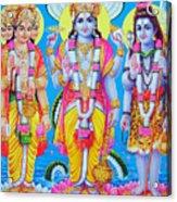 Hindu Trinity Brahma Vishnu Shiva Acrylic Print