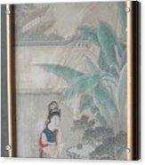 Hinese Painting Acrylic Print