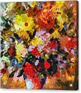 Hint Of Klimt Acrylic Print