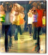 Hip Hop Dance Night Acrylic Print