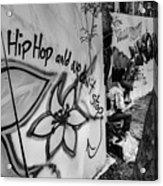 Hip Hop We Don't Stop Acrylic Print