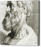 Hippocrates, Greek Physician Acrylic Print