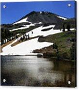 Hiram Peak Glaciers Acrylic Print