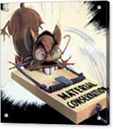 Hirohito As A Rat Acrylic Print