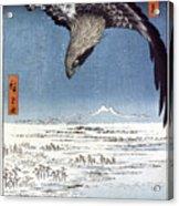 Hiroshige: Edo/eagle, 1857 Acrylic Print