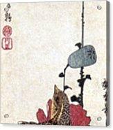 Hiroshige: Poppies Acrylic Print