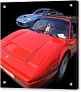 His And Hers Farraris Acrylic Print