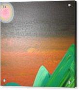 His Mountain Acrylic Print