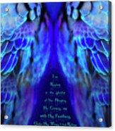 Beneath His Wings 2 Acrylic Print