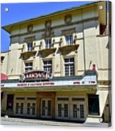 Historic 1920s Revived Lucas Theater Acrylic Print