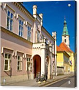 Historic Architecture Of Town Bjelovar Acrylic Print