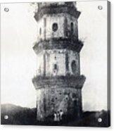 Historic Asian Tower Building Acrylic Print