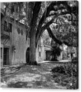 Historic Bok Gardens Home Acrylic Print